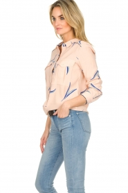ba&sh |  Printed blouse Terry | nude  | Picture 5