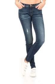 7 For All Mankind | The Skinny Charlotte Blue lengtemaat 32 | blauw   | Afbeelding 2