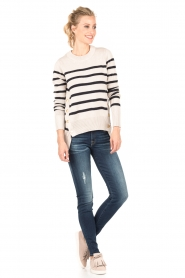 7 For All Mankind | The Skinny Charlotte Blue lengtemaat 32 | blauw   | Afbeelding 3