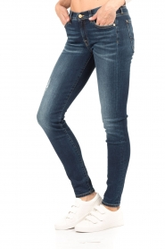7 For All Mankind | The Skinny Charlotte Blue lengtemaat 32 | blauw   | Afbeelding 4