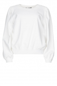 D-ETOILES CASIOPE |  Travelwear sweatshirt with puff sleeves Barbados | natural  | Picture 1