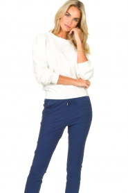 D-ETOILES CASIOPE |  Travelwear sweatshirt with puff sleeves Barbados | natural  | Picture 4