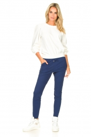 D-ETOILES CASIOPE |  Travelwear sweatshirt with puff sleeves Barbados | natural  | Picture 3