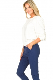 D-ETOILES CASIOPE |  Travelwear sweatshirt with puff sleeves Barbados | natural  | Picture 6