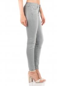 7 For All Mankind | Skinny jeans The Skinny met Swarovski lengtemaat 32 | licht grij  | Afbeelding 4
