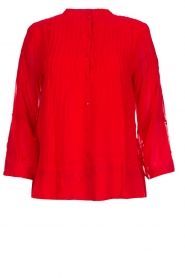 ba&sh |  Blouse  Fleur | red  | Picture 1