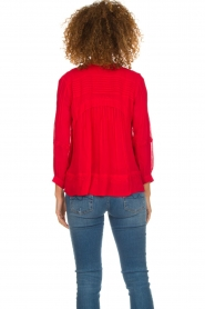 ba&sh |  Blouse  Fleur | red  | Picture 6