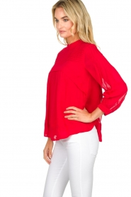 ba&sh |  Blouse  Fleur | red  | Picture 4