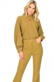 D-ETOILES CASIOPE |  Travelwear top Bora Bora | green  | Picture 2