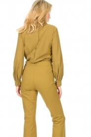 D-ETOILES CASIOPE |  Travelwear top Bora Bora | green  | Picture 7