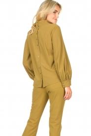 D-ETOILES CASIOPE |  Travelwear top Bora Bora | green  | Picture 6