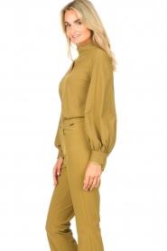 D-ETOILES CASIOPE |  Travelwear top Bora Bora | green  | Picture 5