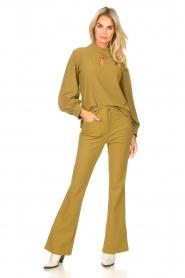 D-ETOILES CASIOPE |  Travelwear top Bora Bora | green  | Picture 3