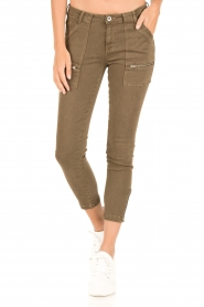 IKKS |  Jeans Monrey | army green  | Picture 2