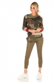 IKKS |  Jeans Monrey | army green  | Picture 3