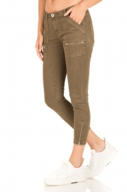 IKKS |  Jeans Monrey | army green  | Picture 4
