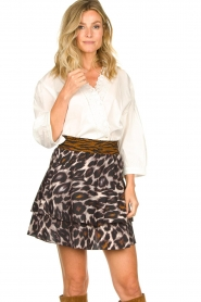 Dante 6 |  Leopard print skirt Wonderous | animal print  | Picture 4