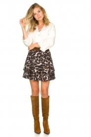 Dante 6 |  Leopard print skirt Wonderous | animal print  | Picture 3