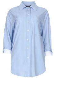 D-ETOILES CASIOPE |  Travelwear blouse Balou | blue  | Picture 1