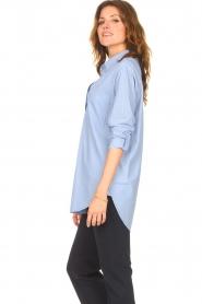 D-ETOILES CASIOPE |  Travelwear blouse Balou | blue  | Picture 7
