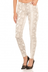 7 For All Mankind | Broek met print Knee Seam Skinny | print  | Afbeelding 2