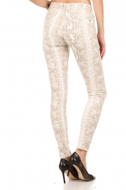 7 For All Mankind | Broek met print Knee Seam Skinny | print  | Afbeelding 5