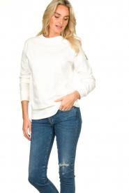Blaumax |  Sweater Brooklyn | white  | Picture 4