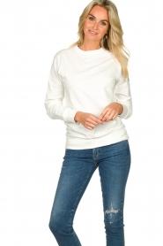Blaumax |  Sweater Brooklyn | white  | Picture 2
