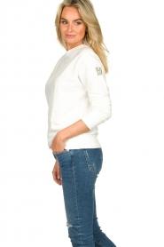 Blaumax |  Sweater Brooklyn | white  | Picture 5