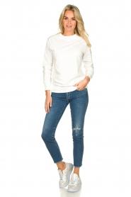 Blaumax |  Sweater Brooklyn | white  | Picture 3