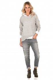 Cropped Jeans Josie | grey