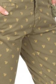 MASONS | Chino broek Jaquelinecurvie | groen  | Afbeelding 5