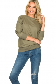 Blaumax |  Sweatshirt Brooklyn | green  | Picture 2