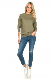 Blaumax |  Sweater Brooklyn | green  | Picture 3