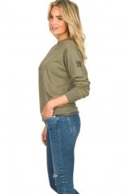Blaumax |  Sweater Brooklyn | green  | Picture 4