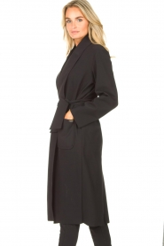 D-ETOILES CASIOPE |  Travelwear cloack jacket Barolo | black  | Picture 6