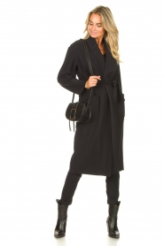 D-ETOILES CASIOPE |  Travelwear cloack jacket Barolo | black  | Picture 3