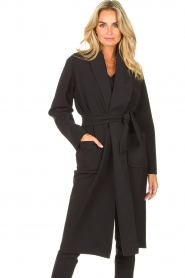 D-ETOILES CASIOPE |  Travelwear cloack jacket Barolo | black  | Picture 4