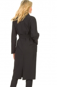 D-ETOILES CASIOPE |  Travelwear cloack jacket Barolo | black  | Picture 7