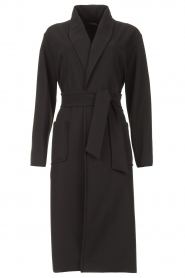 D-ETOILES CASIOPE |  Travelwear cloack jacket Barolo | black  | Picture 1