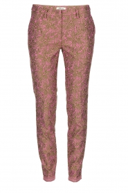 Chino broek New York Glam | roze