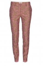 MASONS | Chino broek New York Glam | roze  | Afbeelding 1