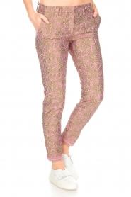 MASONS | Chino broek New York Glam | roze  | Afbeelding 4