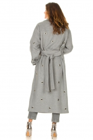 Copenhagen Muse    Wool coat with ring details Ring   grey    Picture 7