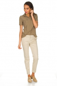 MASONS | Pantalon New York | Beige  | Afbeelding 3