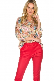 ba&sh |  Floral blouse Room | white  | Picture 4