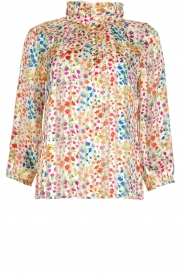 ba&sh |  Floral blouse Room | white  | Picture 1