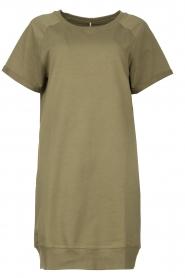 Blaumax |  Sweater dress Queens | green  | Picture 1