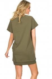 Blaumax |  Sweater dress Queens | green  | Picture 6