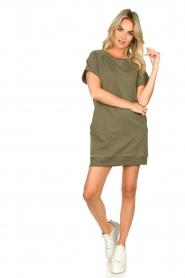 Blaumax |  Sweater dress Queens | green  | Picture 3